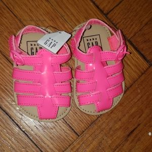 Hot Pink Sandals for Baby Girl